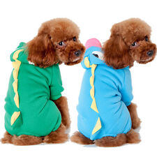 Cute Pet Dog Warm Clothes Puppy Jumpsuit Hoodie Coat Doggy Apparel Costumes