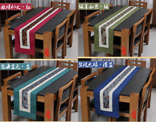 Noble Chinese Vintage Mixed Brocade& Silk Beautiful Table Runner Cloth& Bed Flag