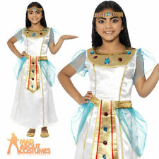 Child Deluxe Cleopatra Egyptian Queen of the Nile Toga Costume Fancy Dress New