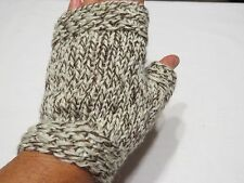HAND KNIT ADULT LADIES FINGERLESS GLOVES TEXTING GLOVES 11 COLORS AVAILABLE
