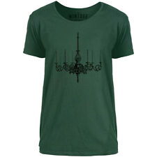 Mintage Wooden Chandelier Mens Scoop Neck T-Shirt