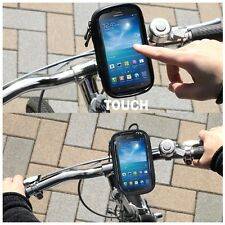 Bicycle WaterProof Mobile Phone Handle Bar Holder For Phones MotorBike Bike Case