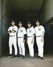 Baseball NY Yankees Derek Jeter Jorge Posada Mariano Rivera Andy Pettitte Photo