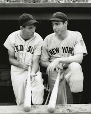 MLB Baseball Red Sox Ted Williams and NY Yankees DiMaggio Photo Picture
