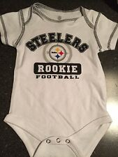 PITTSBURGH STEELERS BODYSUIT - 12 MONTHS OR 18 MONTHS - BRAND NEW