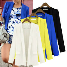 XS-M Celeb Women OL Long Sleeve Slim Casual Suit Blazer Jacket Coat Tops Outwear