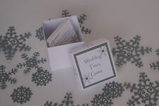Handmade SNOWFLAKE wedding : GAMES & CHILDREN; 4 designs;60 colours/any qty