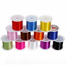 10/100Yards Colorful Strong Elastic Stretchy Beading Thread Cords Jewelry DIY