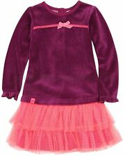 Deux par Deux Girls' Velour Tutu Dress Tutu Monster, Sizes 18M-6
