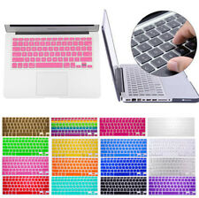 "Silicone Soft Keyboard Skin Cover Case for Apple Macbook Air Pro 13"" 15"" 17"" US"