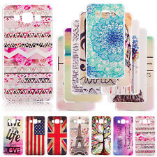 Samsung Galaxy S6 S6 A3 A5 Funda Carcasa Painted Designed Pattern Case Cover