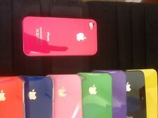 New Hard Back Case Cover for Apple iPhone 4 4S 4G with free Screen Protector