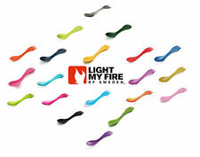 Light My Fire Spork Original Outdoor Picnic & Camping Cutlery - Range of Colours