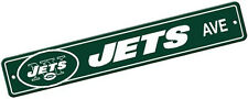New York Jets Bsi Products NFL 4''x24'' Plastic Street Sign Banner
