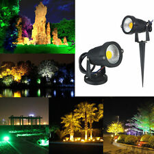6W 9W COB Outdoor LED Landscape Garden Wall Yard Path Flood Spot Light Lamp Bulb