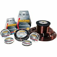 Maxima Chameleon Fishing Line 50M Spools Joined - 3lb to 100lb - From only £2.95