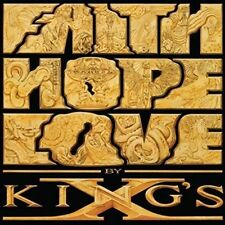 Faith Hope Love - X. King's New & Sealed Compact Disc Free Shipping