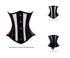 26 Double Steel Boned Waist Training MESH Underbust Corset #8497(MESH)