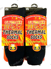 Mens Heat Insulaters Extra Warmth Thermal Socks Tog Rating 2.3 UK 6-11 Eur 39-45