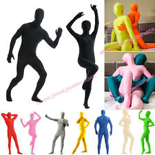 Full Body Zentai lycra Bodysuit Spandex Suit Party Halloween Christmas Costume