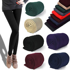 Womens Warm Winter Skinny Slim Leggings Thick Footless Stretch Pants