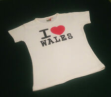 I Love/Heart Wales Ladyfit T-Shirt
