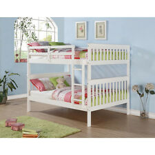 Full over Full Bunk Beds with Optional Storage Drawers or Twin Trundle