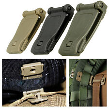 New Practical 30mm Molle Strap EDC Backpack Bag Webbing Connecting Buckle Clip