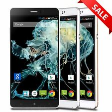 "6"" Android 5.1 Cell Phone Unlocked 3G Dual SIM Smartphone Quad Core GSM GPS QHD"