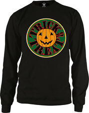 Trick Or Treat Pumpkin Jack-O-Lantern Halloween Party Candy Long Sleeve Thermal