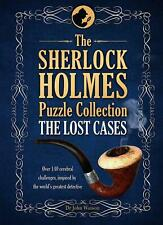 NEW Sherlock Holmes Puzzle Collection: the Lost Cases by Tim Dedopulos Hardcover