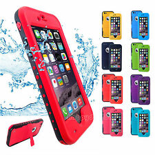 Fashion Shockproof Waterproof Dirt Proof Case Cover For iphone 6 6S 4.7 Plus 5.5