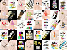 Wholesale LOT ASSORTED FASHION EARRINGS LARGE LOT Hoop Dangle Feather Earring