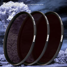 ZOMEi X-Ray IR Infrared Infra-red Filter Lens Kit 720nm+760nm+850nm R72 R76 R85
