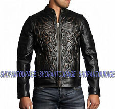 AFFLICTION Rebellious 110OW207 New Leather Jacket +Free Affliction ($39) T-shirt