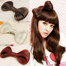 Women Party Wear 8 color gaga style Hair Bow wig Clip