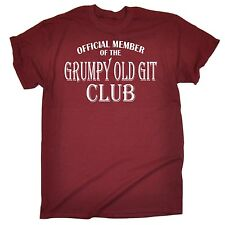 Funny T-Shirts Men's Grumpy Old Git T Shirt Dad Father Grandad Uncle Christmas