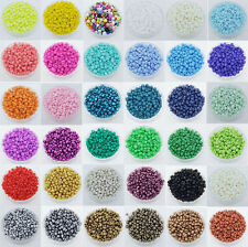 New 1000Pcs 2mm Small Round Czech Glass Seed Loose Spacer Beads Jewelry Making