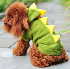 Hot Sale! Pet Cloth Dinosaur Cosplay Funny Cool Halloween Small Cat Dog Cloth