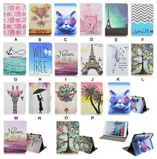 For iPad mini 4 Multiple Patterns Stand Flip Leather Cover Case Protect Tablet