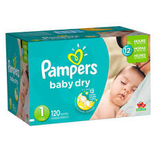 Pampers Baby Dry Diapers Super Pack size 1/2/3/4/5/6.