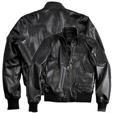 Alpha Industries Engine Leather Jacket, Cult Leather Jacket