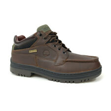 Timberland Mens Waterproof Chukka Gore-Tex Brown Leather Boots Style # 37042 M/W