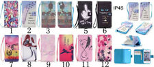 New Strap Wallet Stand Flip Slim Magnetic Leather Case Cover For Apple iPhone 4S