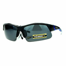Xloop Polarized Lens Sunglasses Unisex Half Rim Sports UV Protection