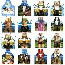 Barbecue Apron Bayern Garb Alpen Oktoberfest Beer Grill Chef Apron Cooking Apron