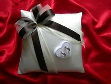 Wedding ring cushion with rings holder box / 59 colors