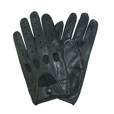 New Isotoner Men's Classic Leather Unlined Driving Gloves