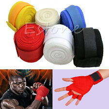 1pair Boxing Hand Wraps Boxing Bandages Wrist Protecting Fist Punching