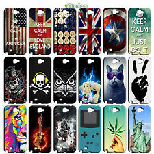 CUSTODIA COVER CASE TPU MORBIDA PER SAMSUNG GALAXY NOTE 2 II N7100 FANTASIA D